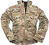 Mil-Tec Men's Softshell Jacket SCU 14 Multitarn Size XXL