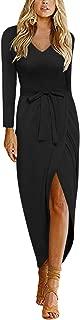 Best satin maxi dress long sleeve Reviews
