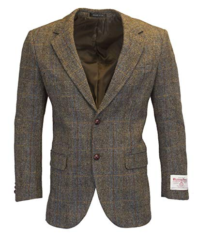 Walker and Hawkes - Country colbert voor heren - blazer/jasje - klassiek/Schots/herringbone/overcheck motief - Harris tweed