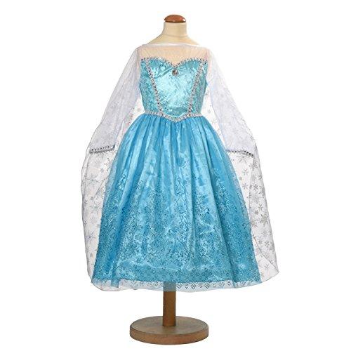 Den Goda Fen Robe Elsa inspirée de la Reine des Neiges (Frozen) (M)
