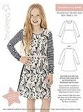 MAGAM-Stoffe Teen Jersey Kleid Schnittmuster Mädchen inkl.