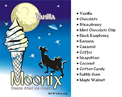 Moonix Freeze Dried Ice Cream VARIETY 5ct (Build Your Own)