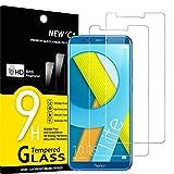 NEW'C Lot de 2, Verre Trempé Compatible avec Honor 9 Lite, Film Protection écran sans Bulles d'air Ultra Résistant (0,33mm HD...