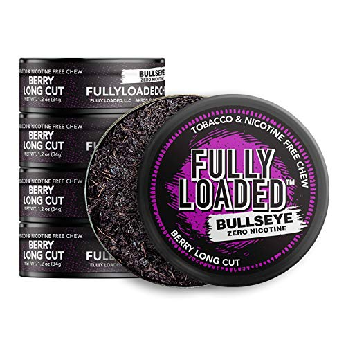 Fully Loaded Chew - 5 Pack - Tobacco and Nicotine Free Berry Flavored Chew