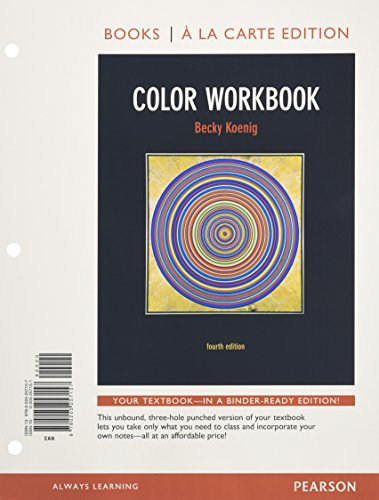 Color Workbook, Books a la Carte Edition (4th Edition)