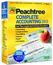 Peachtree Complete Accounting 2003 (Multi-User Value Pack)