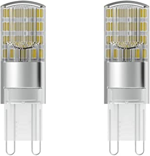 Osram LED Star Special Pin A + +/LED Light Bulb with G4Socket/2700K/2.6W, G9, Warm White, Pack of 2, Plastic 5.2x 1.5...
