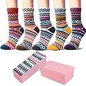 5-Pack Iceivy Vintage Winter Soft Womens Socks