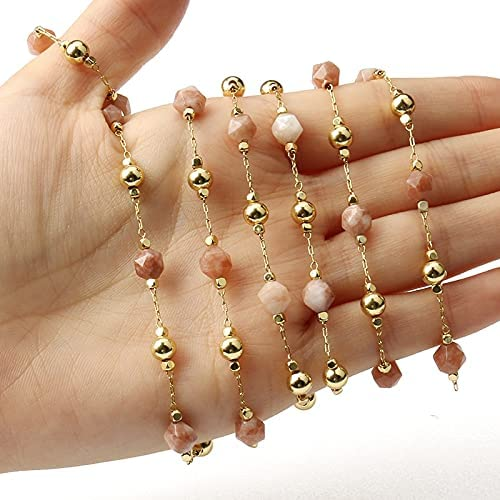 FC-35480 6mm Faceted New Shipping Free Shipping Stone Beads Chains DIY B Making Jewelry for Tampa Mall