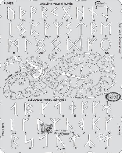 artool- VIKING FX RUNES - Schablone 200 498