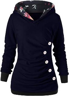 Kobay Women Sweatshirt, Ladies' Hoodie Autumn Long