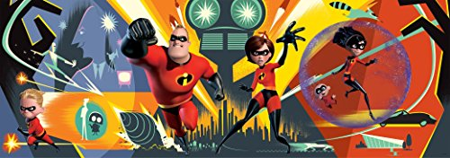 Ceaco Disney Panoramic Incredibles 2 Jigsaw Puzzle, 700 Pieces