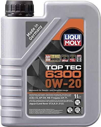 Motoröl Top Tec 6300 0W-20 Liqui Moly Viskosität-SAE: 0W-20 21210