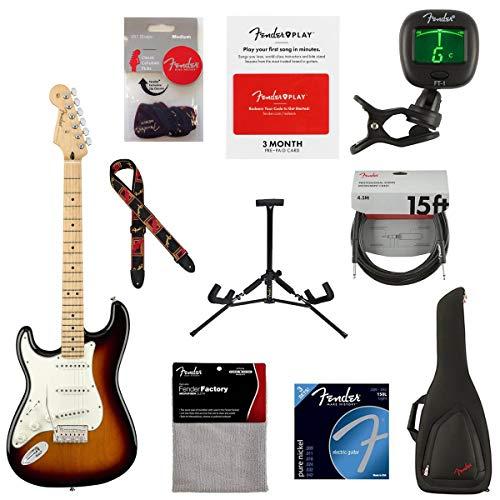 Fender Player Stratocaster Left-Handed Electric Guitar, 22 Frets, Modern