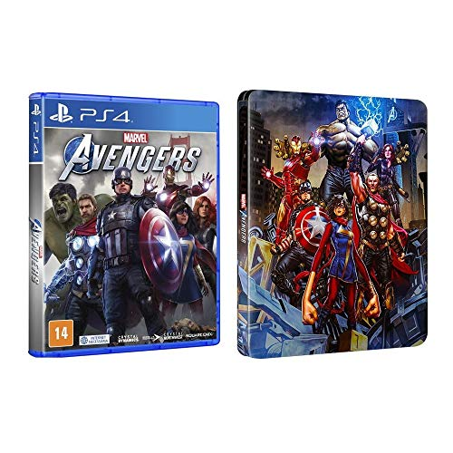 Marvel's Avengers Steelbook – PlayStation 4