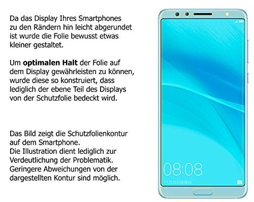 dipos I 6X Schutzfolie matt kompatibel mit Huawei Nova 2S Folie Displayschutzfolie - 6