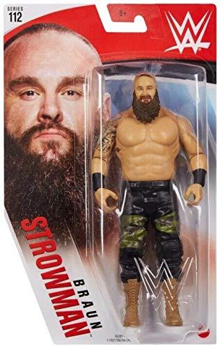 Collect WWE -112 Serie- Braun Strowman - Actionfigur, Bring die Action der WWE nach Hause - Ca. 6