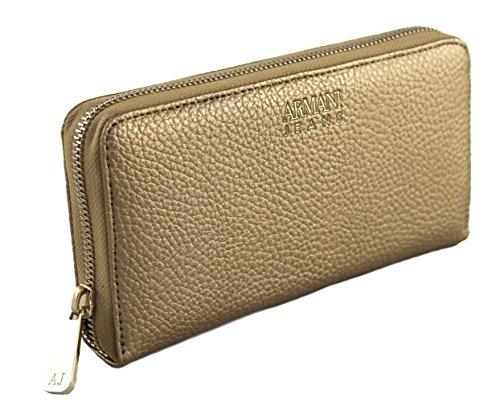 Armani Jeans Geldbörse Geldbeutel Portemonnaie im Geschenkbox 928032 (gold)
