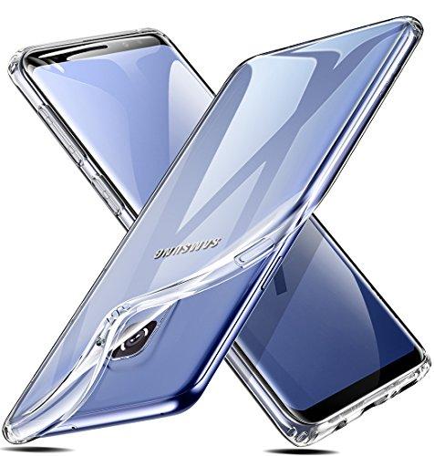 ESR Cover per Samsung Galaxy S9 [Supporta la Ricarica Wireless], Custodia Trasparente Morbida TPU [Ultra Leggere e Chiaro] Silicone Ultra Sottile Case per...