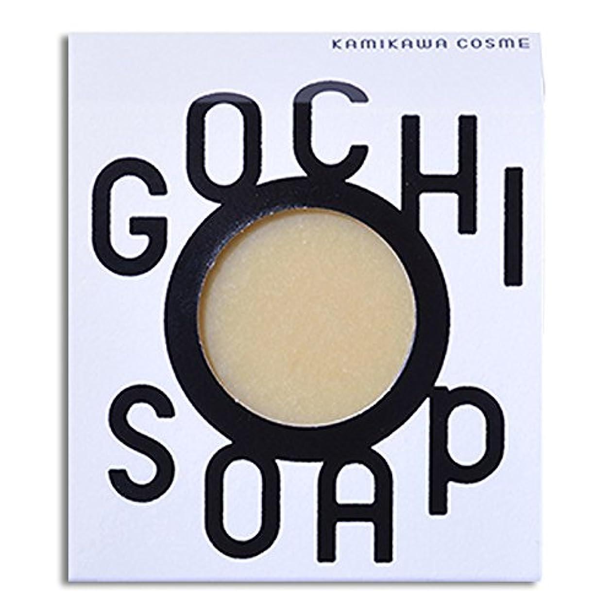 神社タイヤ知っているに立ち寄る道北の素材を使用したコスメブランド GOCHI SOAP(山路養蜂園の蜂蜜ソープ?ふじくらますも果樹園のりんごソープ)各1個セット