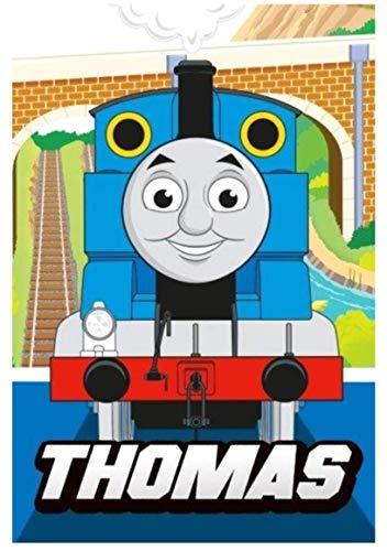 Toalla para niños 100 % algodón – Thomas & Friends The/Thomas The Tank Engine – Gran regalo para niños y niñas (T01)
