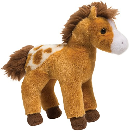 Cudddle Toys 4108 Rey Golden APPALOOSA paard bruin/wit knuffeldier pluche speelgoed