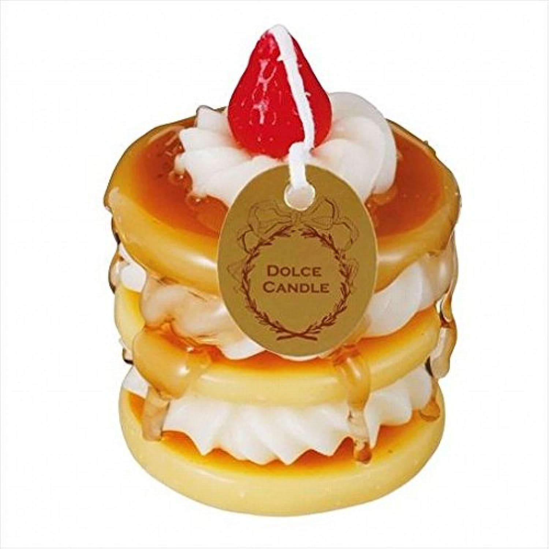 ライナーブレーキ混合sweets candle(スイーツキャンドル) ドルチェキャンドル 「 パンケーキ 」 キャンドル 56x56x80mm (A4340550)