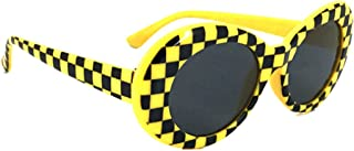 Oval Round Retro Sunglasses Color Tint or Smoke Lenses…