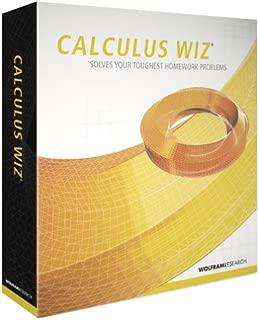Wolfram Research Calculus WIZ (Stand-alone) (PC & Mac)