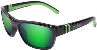 Loubsol - Bao - Gafas de sol para niño (6 a 10 años), color negro