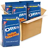 Oreo Medium Cookie Pieces, CHOCOLATE, 160 Ounce (Pack of 4)