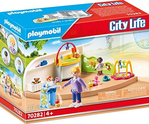 PLAYMOBIL City Life 70282 Krabbelgruppe, ab 4 Jahren