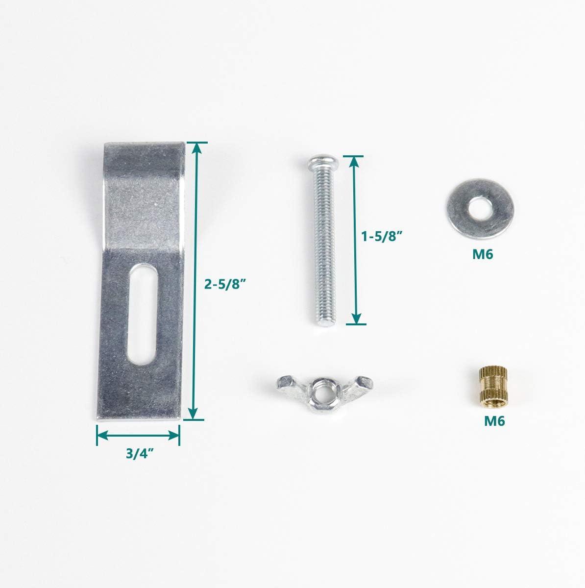 Buy Daisypower Undermount Sink Clips Sink Brackets Kitchen And Bathroom Sink Supports Kits 10 Pack Online In Vietnam B08dcy9m3g