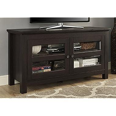 WE Furniture 44  Coronado TV Stand Console, Espresso