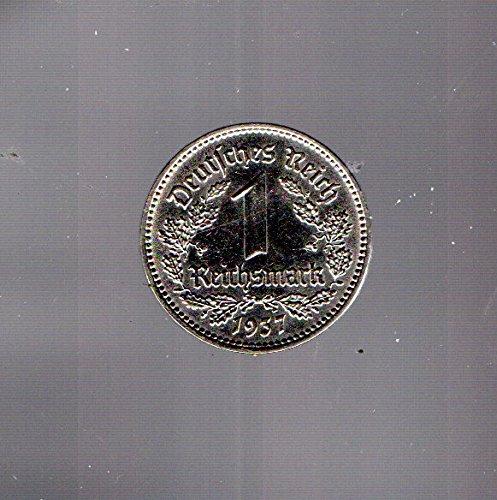 Deutsches Reich Jägernr: 354 1934 D sehr schön Nickel 1934 1 Reichsmark Reichsadler (Münzen für Sammler)