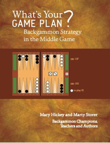 Compare Textbook Prices for What's Your Game Plan? Backgammon Strategy in the Middle Game  ISBN 9780615451978 by Mary Hickey,Marty Storer