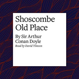 Shoscombe Old Place audiobook cover art