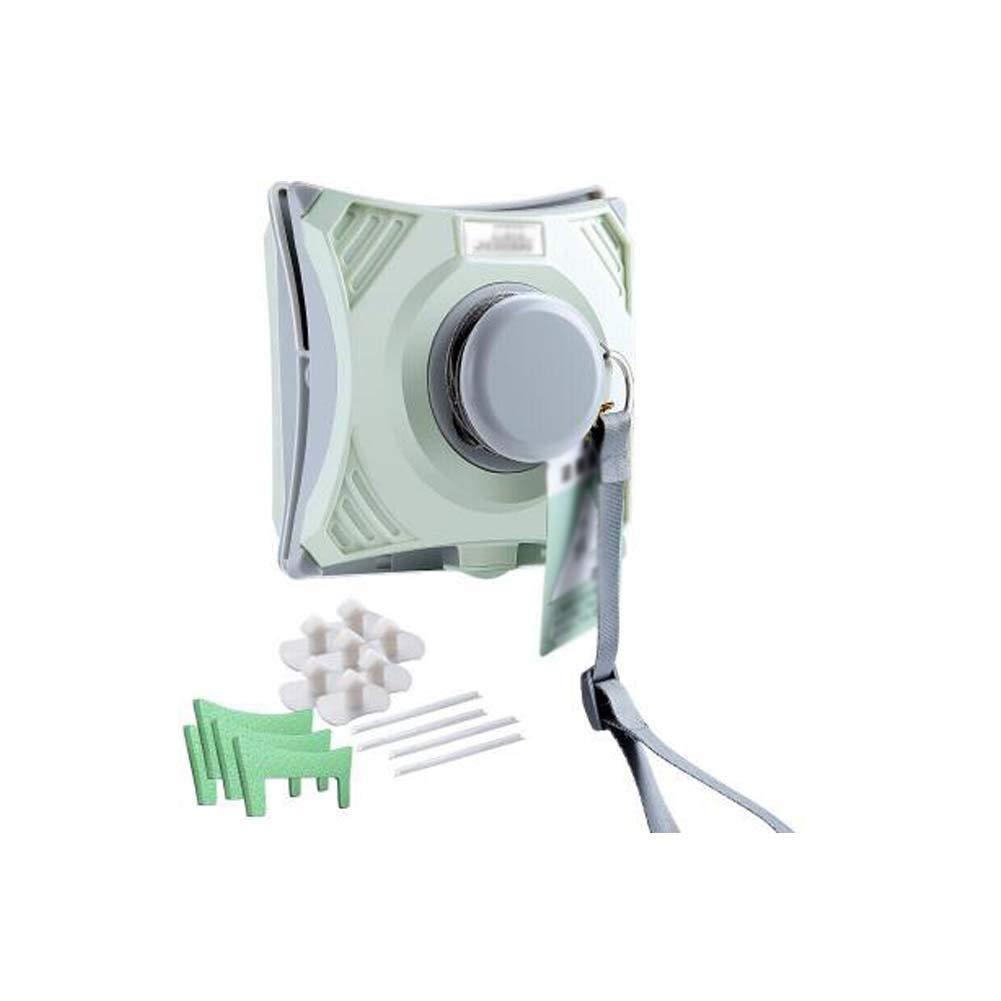 XXZG Limpiacristales Magnético, Limpiador De Ventanas Magnético Ajustable, Que Limpia Ventanas Ventanas Un Solo Acristalamiento Doble Acristalamiento (Bean Green / 5-26mm): Amazon.es: Hogar