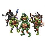 Teenage Mutant Ninja Turtles Action Figures Mutant Teenage Toys of 6pcs Leonardo/Leo Donatello/Donnie Michelangelo/Mikey Raphael/Raph Hamato Yoshi/Splinter/ April O'Neil Set