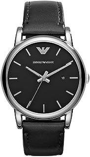 Emporio Armani Wrist Watch For Men, Black, AR1692