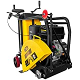Stark Commercial 18' Gas-Powered Walk-Behind Concrete Saw Floor Saw Cutter 13HP Engine Motor with Water Tank