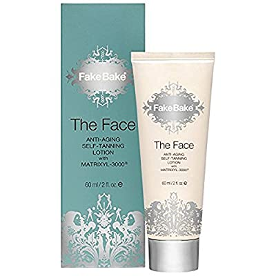 Fake Bake The Face Anti-Aging Self-Tanning Lotion 60ml (PACK OF 2)