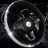 Valleycomfy Crystal Diamond Steering Wheel...