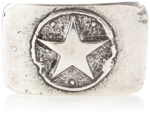 MGM Schließe Stern Ceinture, Argenté-Silber (Altsilber 1), taille unique Mixte