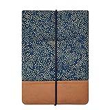 Kuratist eBook Reader Sleeve- Handgemacht aus 100% Baumwolle und Kantenschutz aus Papier in Lederoptik