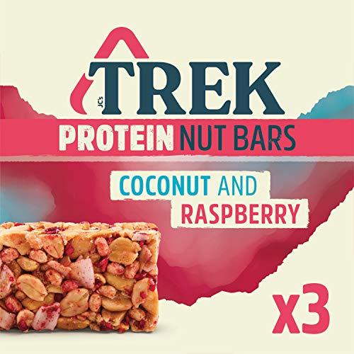 Trek Protein Nut Bar Coconut & Raspberry, 3x40g