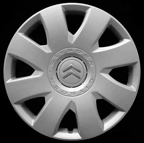 Aftermarket 1 tapacubos para rueda de 16 pulgadas para Citroen C4 2004 en adelante, no original, individual 9024