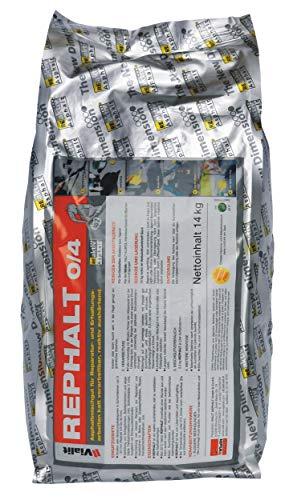 Rephalt Reparatur Asphalt 14 kg Beutel lösemittelfreier Kaltasphalt (0/2 mm Körnung)