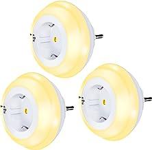 Emotionlite Nachtlampje met schemeringssensor, led-nachtlamp voor kinderen, bescherming, stopcontact, oriëntatielamp, held...