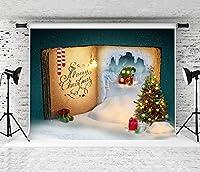 冬の写真の背景クリスマスの写真の背景ウィンドウズ暖炉フォトコール冬の雪の肖像画の背景写真スタジオクリスマスツリーギフトおもちゃ
